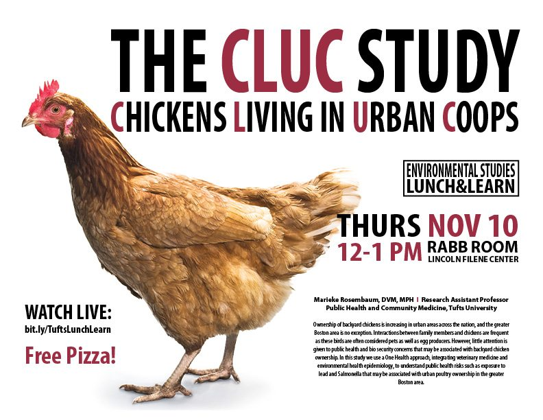 The CLUC Study – Chickens Living in Urban Coops_Lunch & Learn_TIE