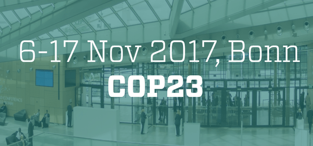 COP-23 United Nations Framework Convention on Climate Change