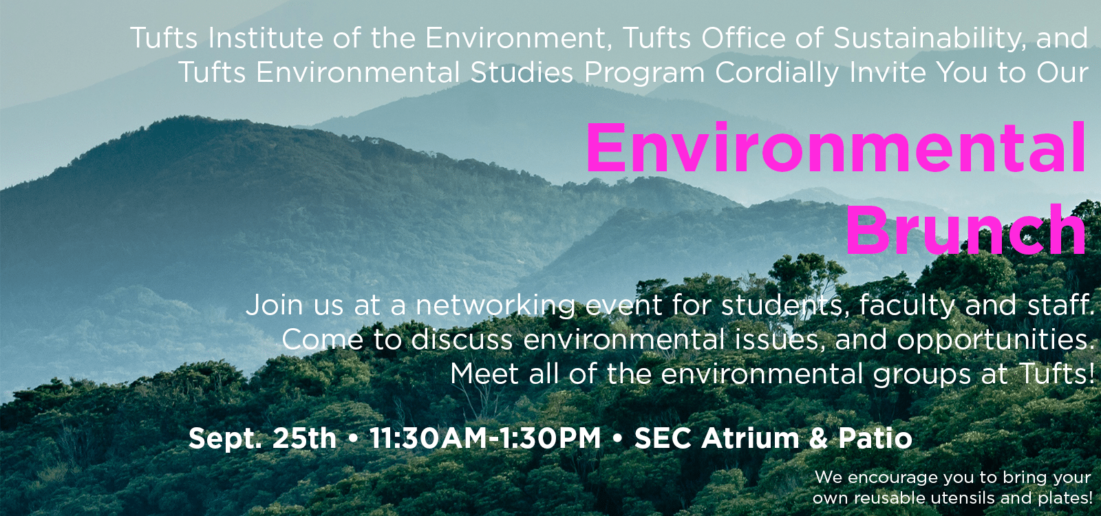Join us at the Environmental Brunch!