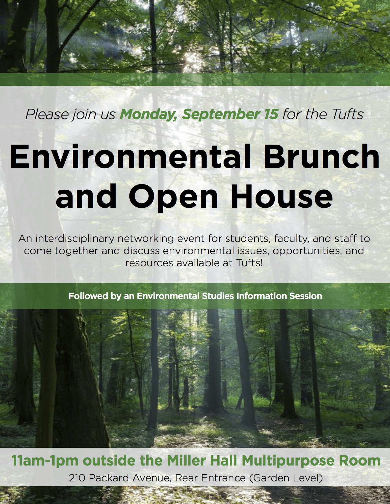 TIE_Tufts Environmental Community Brunch & Open House_2014
