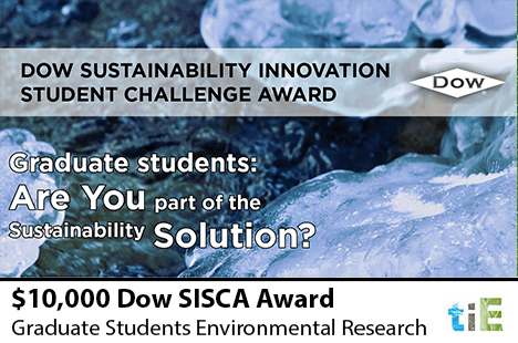 TIE_DOW Sustainability Innovation Student Challenge Award 2014