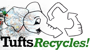 Recycling at Tufts University