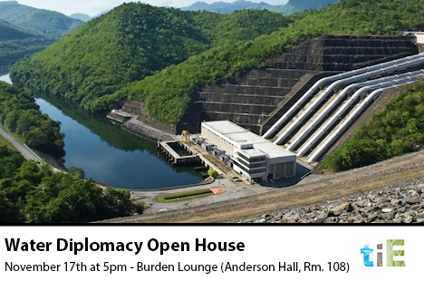 Water Diplomacy Open House