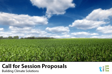 TIE_Call for Session Proposals – Building Climate Solutions