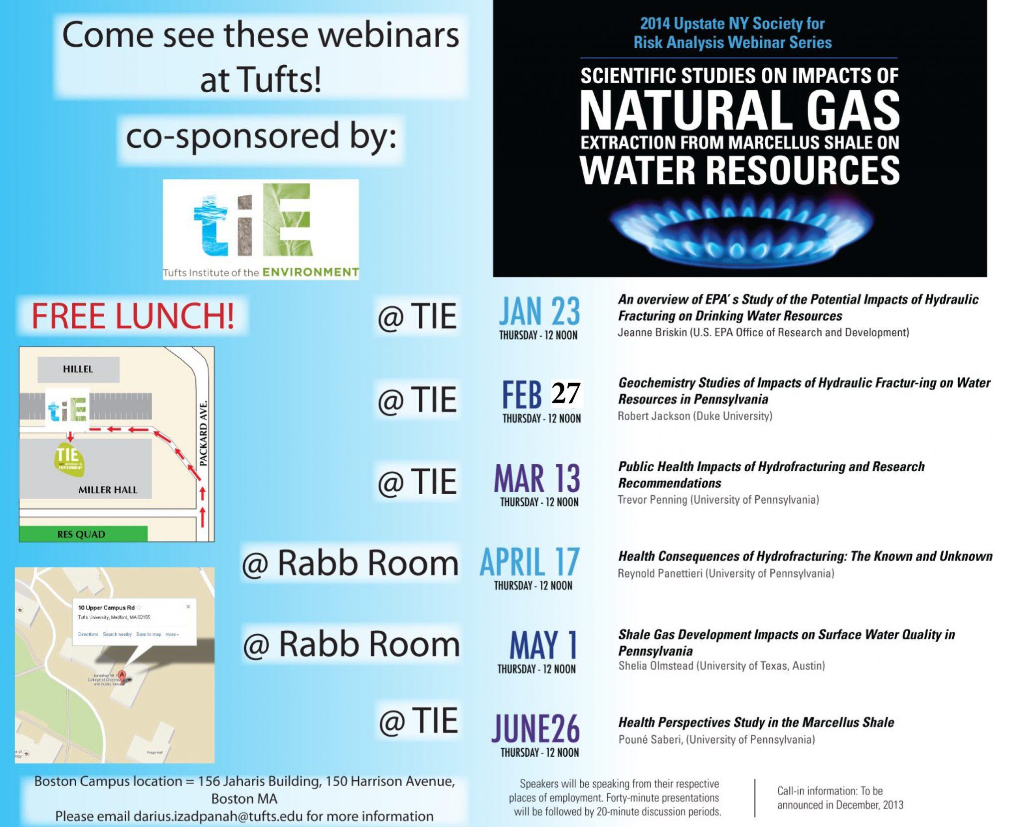 TIE_Fracking Webinar Series_2014