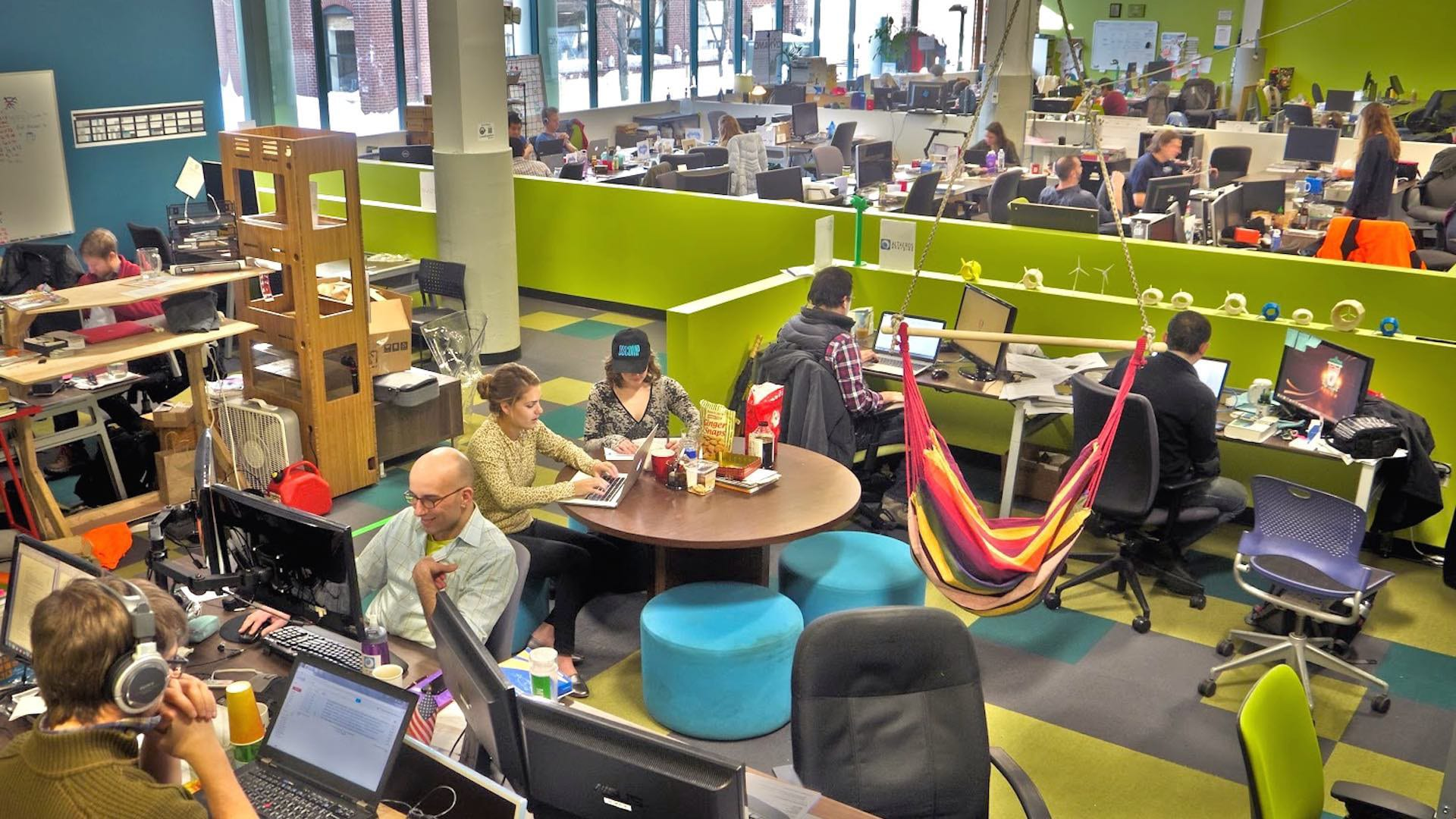 greentown labs people working on projects
