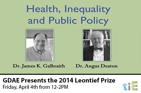 TIE_GDAE Awards the 2014 Leontief Prize