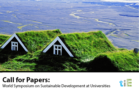 TIE_World Symposium on Sustainable Development at Universities