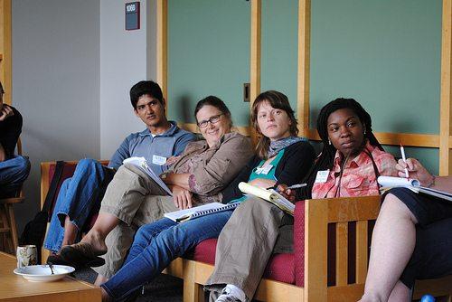 TELI 2008 Beth discussing horizontal